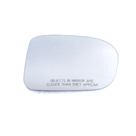 Compatible with 14-15 Honda Civic Right Passenger Heated  Mirror Glass Lens