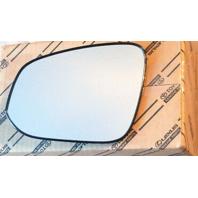 Left Driver Side Heated Mirror Glass w/ Holder Genuine OE 14-20 4Runner