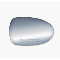 For 98-01 Altima, 95-99 Sentra, 200SX Right Pass Mirror Glass Lens w/Adhesive