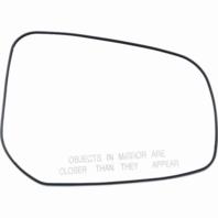 Fits 15-17 Mitsu Lancer Right Passenger Mirror Glass w/Rear Holder Heated