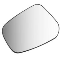 Fits 15-17 Mitsu Lancer Left Driver Mirror Glass w/Rear Holder Heated