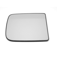For 13-18 2500 3500 Ram Right Pass Upper 2 Piece Flip Up Type Power Mirror Glass w/ Holder