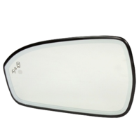 For 13-20 Fusion Left Driver Mirror Glass Heated w/Blind Spot Detect w/Holder OE