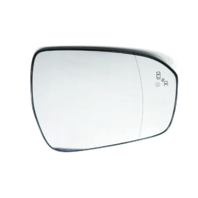 For 13-20 Fusion Right Pass Mirror Glass Heated w/Blind Spot Detect w/Holder OE