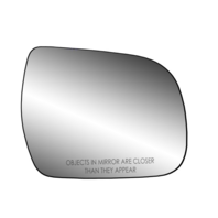 Fits 11-20 Sienna Right Passenger Heated Convex Mirror Glass w/ Rear Holder