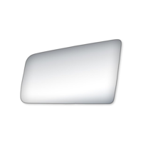Left Driver Manual Mirror Glass Lens w/Adhesive for 82-94 S10 Blazer Jimmy S15