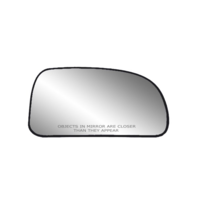 Fits Envoy Trailblazer Right Passenger Mirror Glass Heated w/ Rear Holder