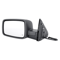 Fits 14-17 DGRam Pickup 1500 Left Driver Power Heated Mirror Assembly Genuine OE