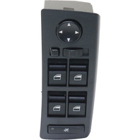 X5 01-06 POWER WINDOW SWITCH, Front, LH, with Auto Dimming Mirrors