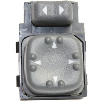 BLAZER 98-05 / S10 PICKUP / SONOMA 98-04 / BRAVADA / JIMMY 98-01 MIRROR SWITCH, 4 Male Terminals, Pins Type