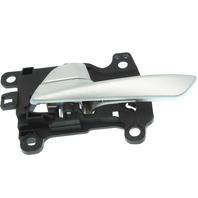 TUCSON 16-18 FRONT INTERIOR DOOR HANDLE LH, Silver, Plastic