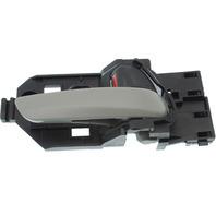 FIT 15-17 FRONT INTERIOR DOOR HANDLE RH, Textured Gray Lever/Black Knob, (=REAR)