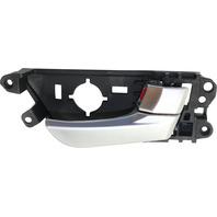 VELOSTER 12-17 FRONT INTERIOR DOOR HANDLE RH, Silver Handle + Knob, 1.6L Turbo Eng, (=REAR)