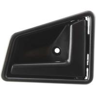 SIDEKICK 89-98 FRONT INTERIOR DOOR HANDLE RH, Plastic, Smooth Black, 4-Door