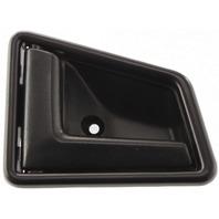 SIDEKICK 89-98 FRONT INTERIOR DOOR HANDLE LH, Plastic, Smooth Black, 4-Door