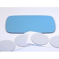 VAM Fits 84-05 BMW 3 Series All Except ci Models Left Driver Mirror Blue Glass Lens w/Adhesive USA Non Heated