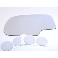 VAM FitsLeft Driver Replacement Mirror Glass Lens Direct Fit Over Option for Heated Auto Dimming Mirrors Only w/Adhesive USA Fits 02-06 Escalade, Avalanche, 00-06 Suburban, Tahoe, Yukon