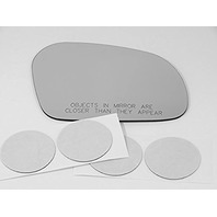 VAM Fits 95-02 LINC Continental, Right Passenger Side Mirror Glass Lens W/o Backing Plate (Original Mirror was Heated) Comes with Adhesive, USA