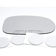 VAM Fits 00-03 Maxima, 00-04 Inf I30, I35 Right Pass Mirror Glass Lens w/Silicone