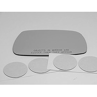 VAM Fits 02-05 IS300 Right Passenger Side Convex Mirror Glass Lens W/o Backing Plate (Direct Fits -Over for Auto-Dimming Mirror, Mirror Does not Auto-Dim), Comes with Adhesive, USA