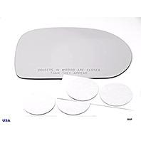 VAM Fits 03-06 Inf G35 Sedan, Right Passenger Mirror Glass Lens with Adhesive, USA