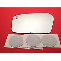 VAM Fits 10-12 Fusion, 2010 Milan Left Driver Mirror Glass Lens w/Blind Spot Detect (Uses existing LED) w/o Backing Plate w/Silicone USA