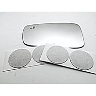 VAM Fits 13-14 Hy Sonata Left Driver Mirror Glass Lens w/BlindSpot Icon in Glass