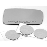 VAM Fits 02-08 BMW 745/750 / 760 Right Pass Convex Mirror Glass Lens Direct Fit Over for Auto-Dimming Type Mirrors