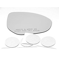 VAM Fits 11-14 2, 11-13 3 Right Pass Heated Convex Mirror Glass Lens w/Silicone USA