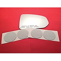 VAM Fits 09-15 370Z Right Pass Convex Mirror Glass Lens w/Adhesive Non Heated