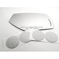 VAM Fits 14-18 1500 Silverado, Sierra 15-187 2500, 3500 Right Pass Mirror Glass Lens w/Signal Icon