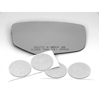 VAM Fits 14-19 RLX Right Pass Heated Mirror Glass Replacement Lens w/Silicone