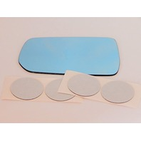 VAM Fits 02-03 TL Left Driver Blue Mirror Glass Lens w/Adhesive USA w/o Optional Backing Plate