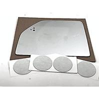 VAM Left Upper Tow Mirror Glass Lens for 15-18 F150, F250, F350,F450 w/Blind Spot Icon