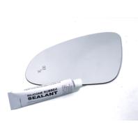 Fits 13-17 Verano Left Driver Mirror Glass Lens w/Blind Spot Icon w/Silicone USA