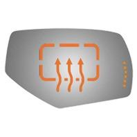 VAM Fits 14-18 1500 Silverado Sierra 15-19 2500 3500 Right Heated Mirror Glass Lens w/Signal Icon