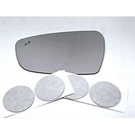 VAM Fits 17-18 Kia Forte Left Driver Mirror Glass Lens w/BlindSpot Crosspath Icon