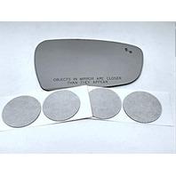 VAM Fits 17-18 Kia Forte Right Pass Convex Mirror Glass Lens w/BlindSpot Icon