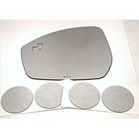 VAM Left Driver Mirror Glass Lens w/Blind Spot Crosspath for 14-17 Evoque 15-17 Discovery Sport