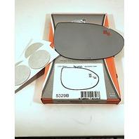 VAM Right Pass Convex Mirror Glass Lens w/Blindspot Detection for 09-13 MAZ 6