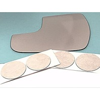 VAM Fits 15-18 Sienna Right Passenger Small Spot Mirror Glass Lens as Pictured