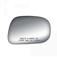K Source Fits 02-06 Camry Right Pass Mirror Glass Lens USA Built Only Vin# 1, 4, 5