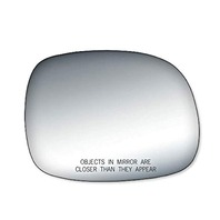 VAM Fits 00-06 Tundra 01-07 Sequoia Right Pass Convex Mirror Glass Lens w/Adhesive