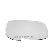 Fits 06-(12*) Yaris 08-14  xD Right Pass Mirror Glass Lensv w/Silicone