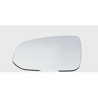 Fits 16-19  XC90 Left Driver Mirror Glass Lens W/ Silicone