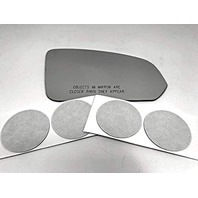 VAM Fits 17-19 S90 Right Passenger Convex Mirror Glass Lens Only W/Silicone