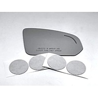 VAM Fits 17-19 S90 Right Pass Mirror Glass Lens w/Blind Spot Icon w/Silicone