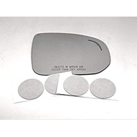 Fits 18-19 V90, XC60 Right Pass Mirror Glass Lens w/Blind Spot Icon