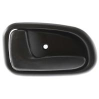 COROLLA 93-97 FRONT INTERIOR DOOR HANDLE LH, Plastic, Black, (=REAR)