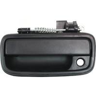 TACOMA 95-04 EXTERIOR FRONT DOOR HANDLE LH, Textured Black, w/ Keyhole
